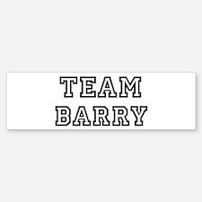 Team Barry Bumper Bumper Bumper Sticker