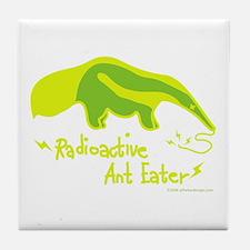 Radioactive Ant Eater! Tile Coaster