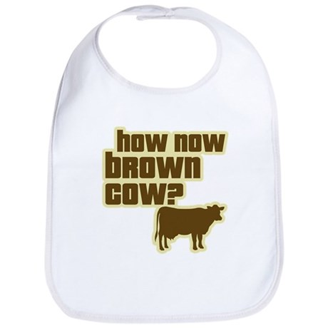 How Now Cow Bib