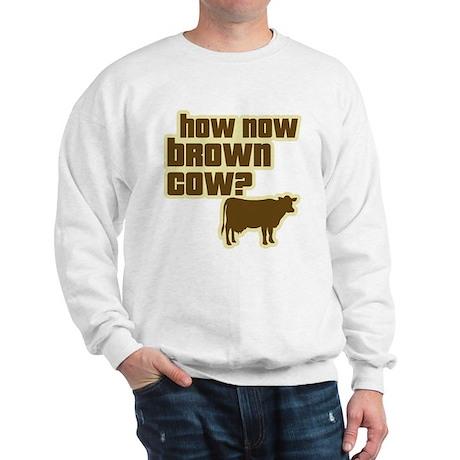 How Now Cow Sweatshirt