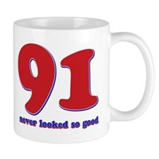 91 years never looked so good Mug
