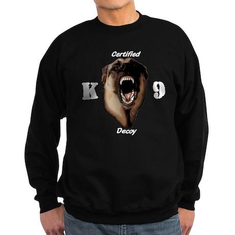 CK9D with dog Sweatshirt (dark)