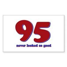 95 years never looked so good Decal