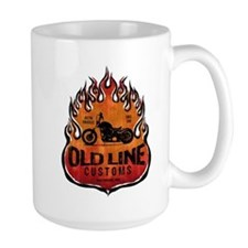 OLD LINE CUSTOMS BIKE SHOP Mug