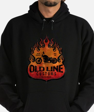 OLD LINE CUSTOMS BIKE SHOP Hoodie (dark)