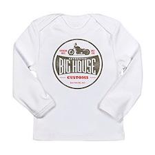 VINTAGE BIKER Long Sleeve Infant T-Shirt