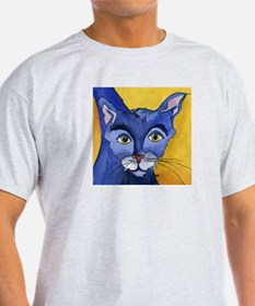 CAT 5 Ringing in the Blues Ash Grey T-Shirt