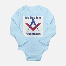 My Dad is a Mason Long Sleeve Infant Bodysuit