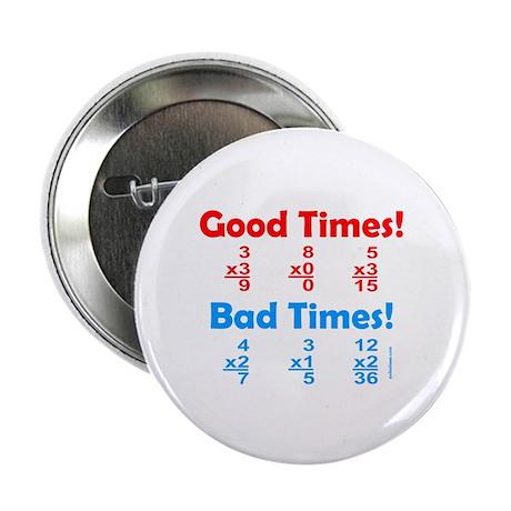 """MATH/MATHEMATICS 2.25"""" Button (10 pack)"""