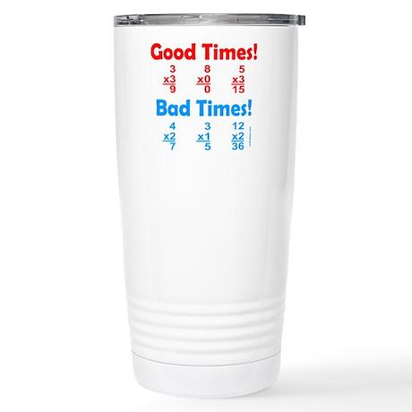 MATH/MATHEMATICS Stainless Steel Travel Mug