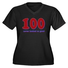 100 years never looked so good Women's Plus Size V