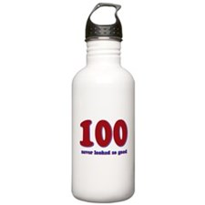 100 years never looked so good Water Bottle
