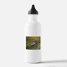 Unique Smokey mountains Water Bottle