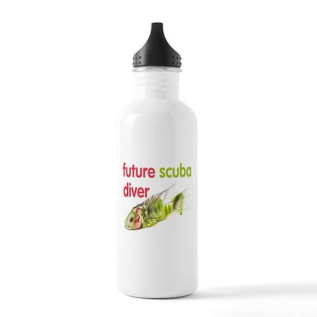 future scuba diver Stainless Water Bottle 1.0L