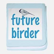 future birder baby blanket