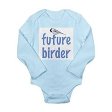 future birder Long Sleeve Infant Bodysuit