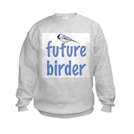 future birder Kids Sweatshirt