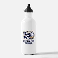 Wrestling Team Manager Water Bottle
