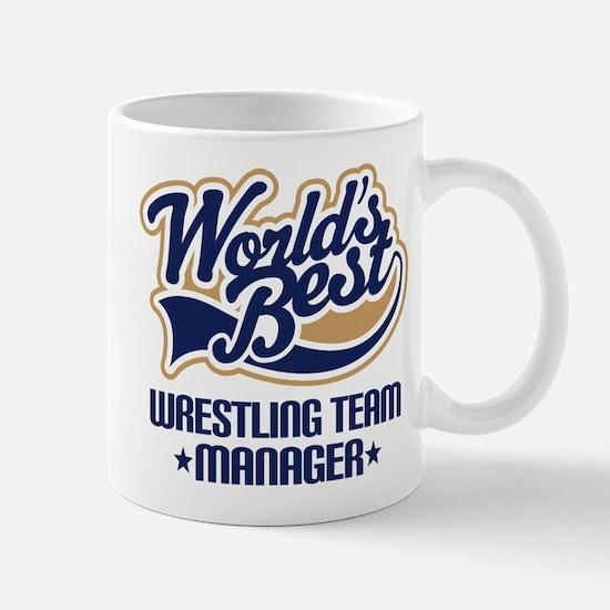 Wrestling Team Manager Mug