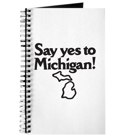 Say Yes to Michigan Journal