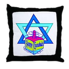 Hanukkah Oh Chanukah Throw Pillow