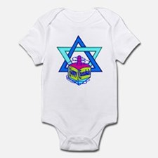 Hanukkah Oh Chanukah Infant Bodysuit