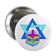 "Hanukkah Oh Chanukah 2.25"" Button"