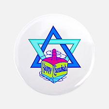 "Hanukkah Oh Chanukah 3.5"" Button (100 pack)"