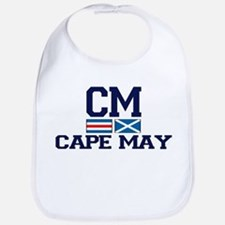 Cape May NJ - Nautical Design Bib