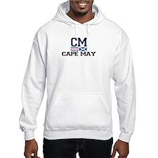 Cape May NJ - Nautical Design Hoodie
