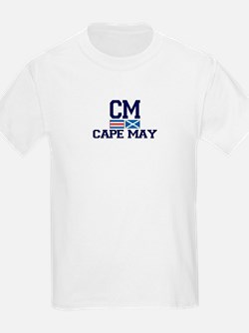 Cape May NJ - Nautical Design T-Shirt