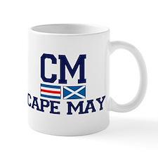 Cape May NJ - Nautical Design Mug