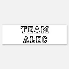 Team Alec Bumper Bumper Bumper Sticker