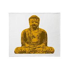 Buddha Graphic Throw Blanket