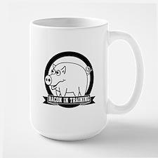 Bacon In Training Large Mug