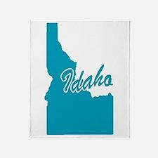 State Idaho Throw Blanket