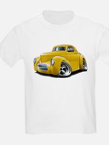 1941 Willys Yellow Car T-Shirt