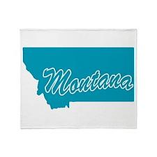 State Montana Throw Blanket