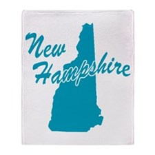 State New Hampshire Throw Blanket
