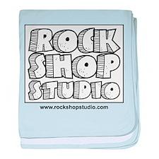 Rock Shop Studio baby blanket
