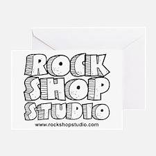 Rock Shop Studio Greeting Card