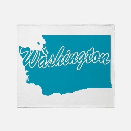 State Washington Throw Blanket