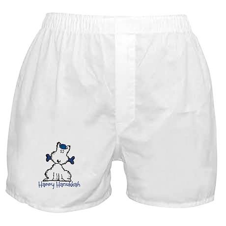 Dog Hanukkah Boxer Shorts