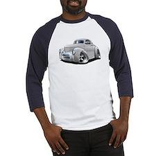 1941 Willys White Car Baseball Jersey
