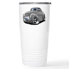 1941 Willys Silver Car Travel Mug