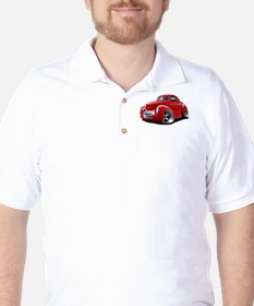 1941 Willys Red Car T-Shirt