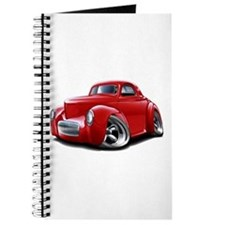 1941 Willys Red Car Journal