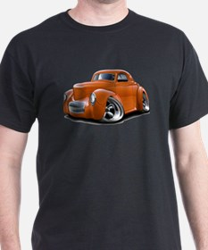 1941 Willys Orange Car T-Shirt