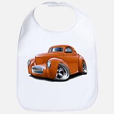 1941 Willys Orange Car Bib