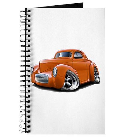 1941 Willys Orange Car Journal